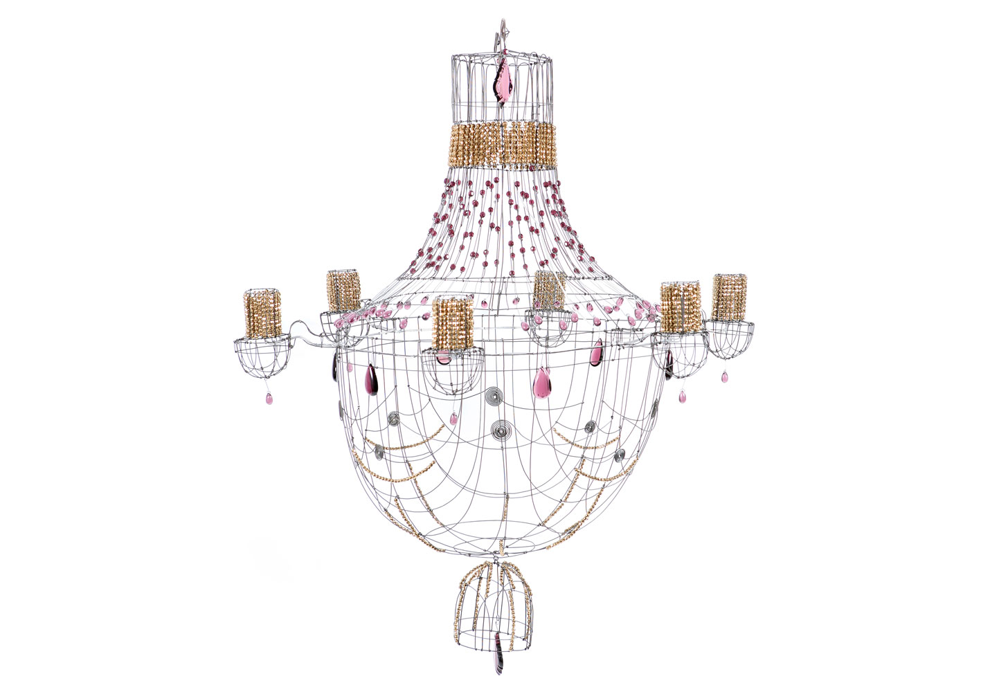 patio chandelier collection exceptionnel sculptures de fil de fer et de 27 shabby chic. Black Bedroom Furniture Sets. Home Design Ideas