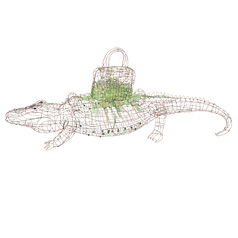 crocodile ©Marie Christophe